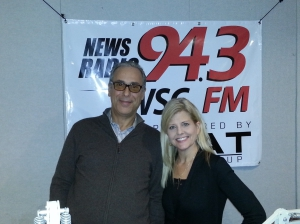 Dr. Thomas Mirabile with Rebecca