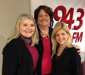 Cindy Grosso of Charleston School of Protocol and Linda Waterman of Re-INVENT Magazine