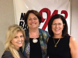 "Linda Waterman of ""Refreshed Women"" and Kathy Eckert, Dir. of Au Pair Care, Charleston"
