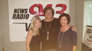 Guests Linda Waterman of Refreshed Women and Dr Barbara Boatwright